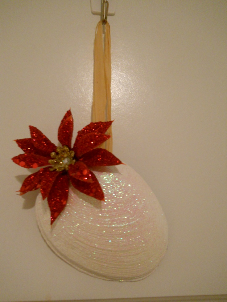 64 best clam shell craft ideas images on pinterest shell for Big seashell crafts