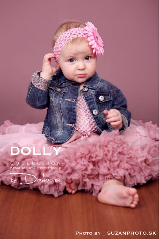 Isabella Pink petti skirt by DOLLY by Le Petit TOm