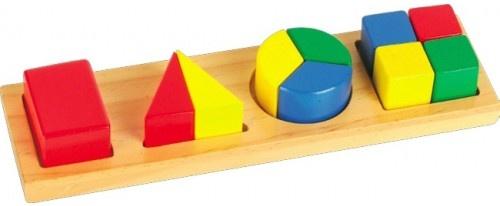 Мир деревянных игрушек Дроби малые №4 ~200