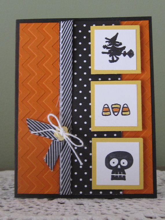 Stampin' Up Handmade Greeting Card Happy by ConroysCorner on Etsy