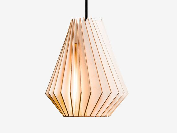 HEKTOR wood lamp  wooden lampshade pendant lighting por IUMIDESIGN