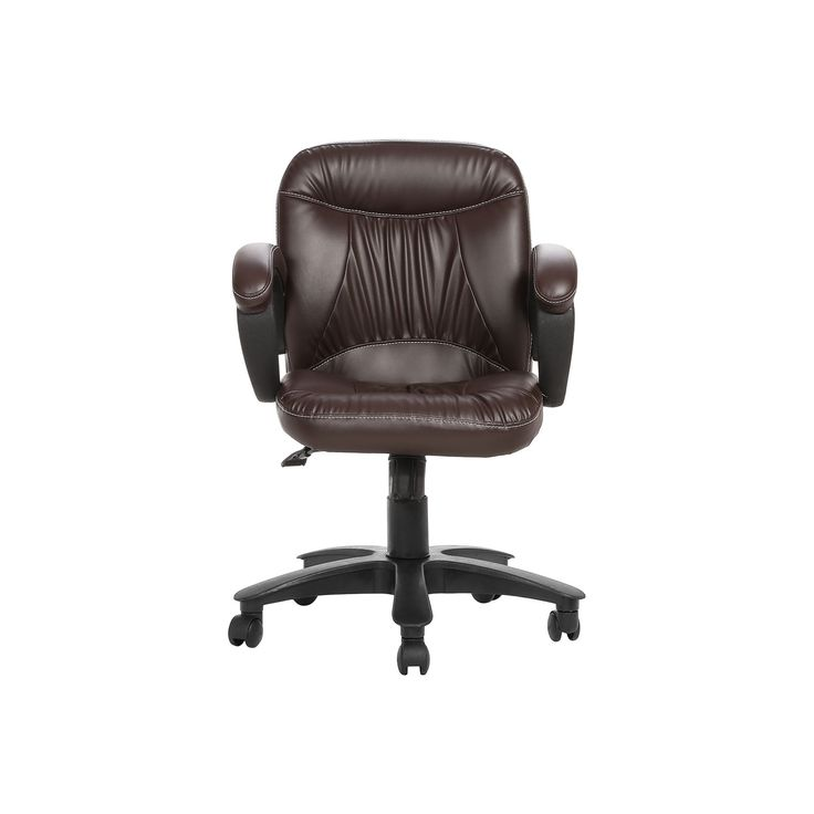 """THE DELANTAL WORKSTAION CHAIR BROWN"" Office Furniture Online, Modular Office Furniture Chairs Manufacturers and Supplier Delhi 