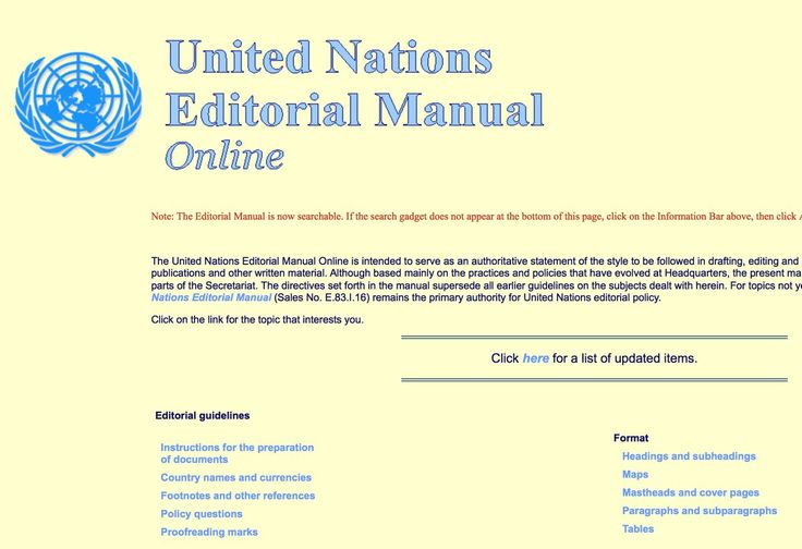 "United Nations DGACM on Twitter: ""DYK the #UN Editorial Manual Online is the primary repository of the editorial practice of the Organization? https://t.co/B2CuNlIkcb https://t.co/VKo5ViT9LU"""