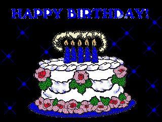 Happy Birthday Cake Wishes Picture