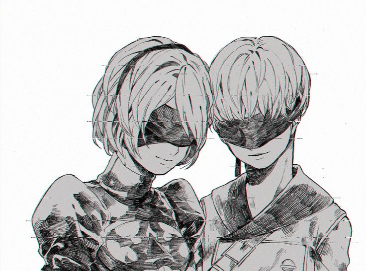 40 Best Nier Automata Images On Pinterest: 17 Best Images About Anime-Manga Couple