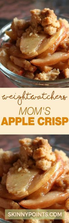 Mom's Apple Crisp With Only 7 Weight Watchers Smart Points