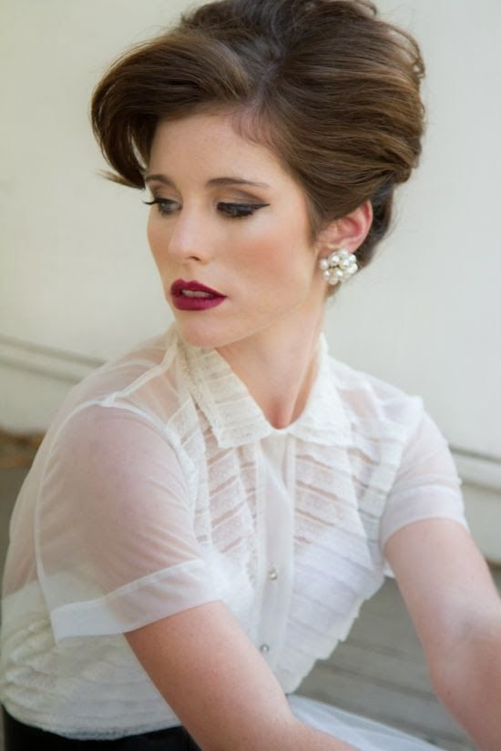 Hair and Make Up Ideas: Old Hollywood Glamour