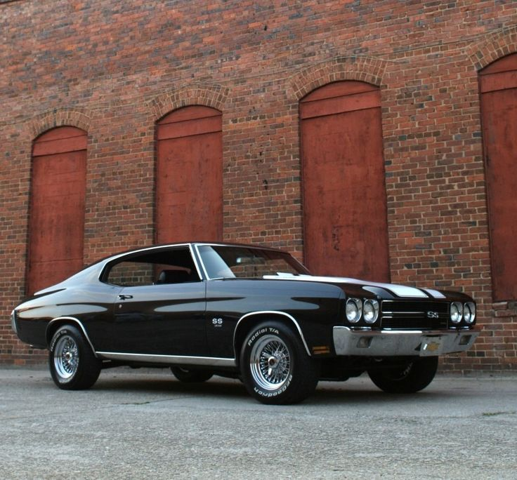 """a-slice-of-awesome: """" 1970 Chevrolet Chevelle SS """""""