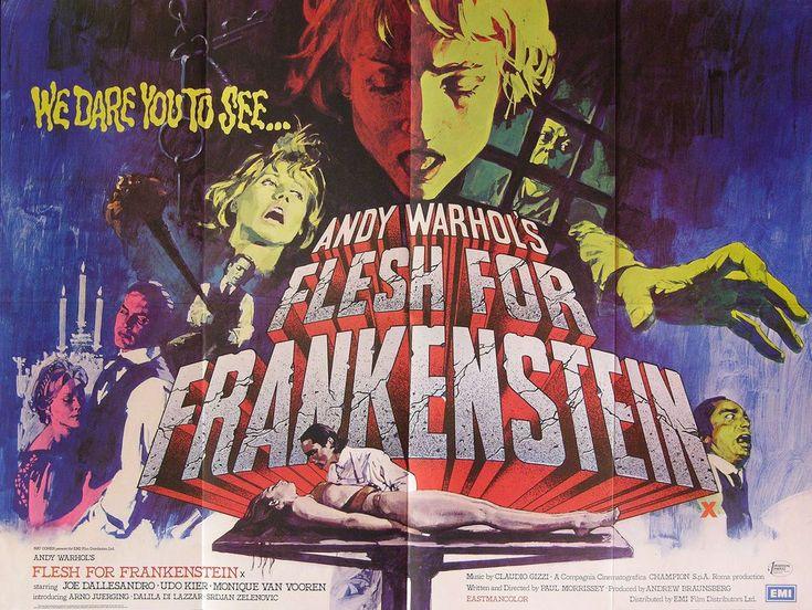 Andy Warhol's Frankenstein 1974 British Quad Poster in ...