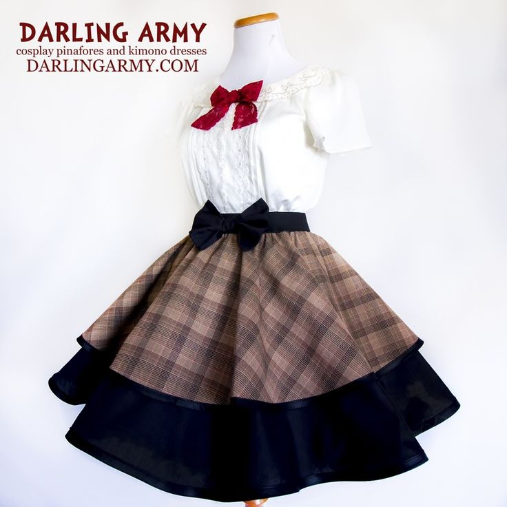 Doctor Who Eleventh Matt Smith Cosplay Skirt Dress Lolita Accessory | Darling Army