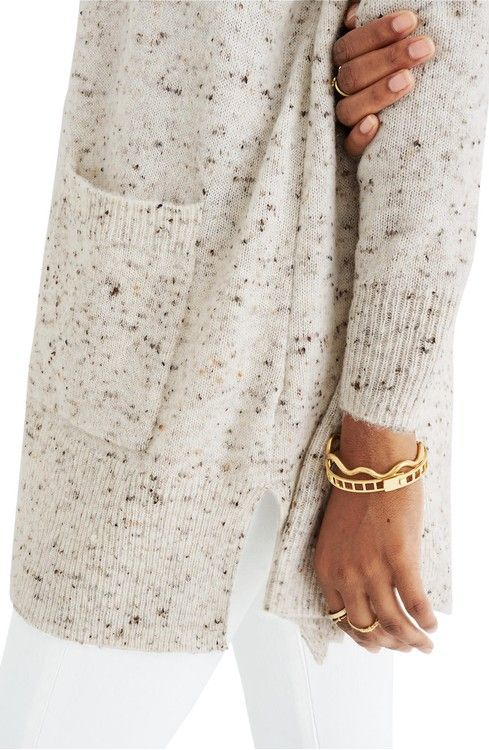Main Image - Madewell Donegal Kent Cardigan Sweater