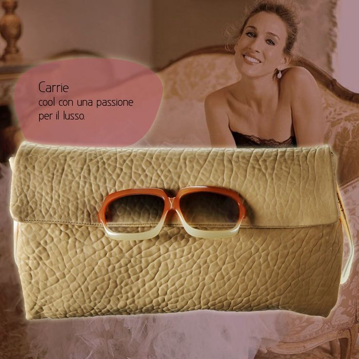 "CARRIE BAG ""Don't forget to fall in love with youself"" #CarrieBradshaw  Good morning, Charlie!  #vintage #glasses #occhiali #eyeglasses #sunglasses #occhialivintage #poshead"