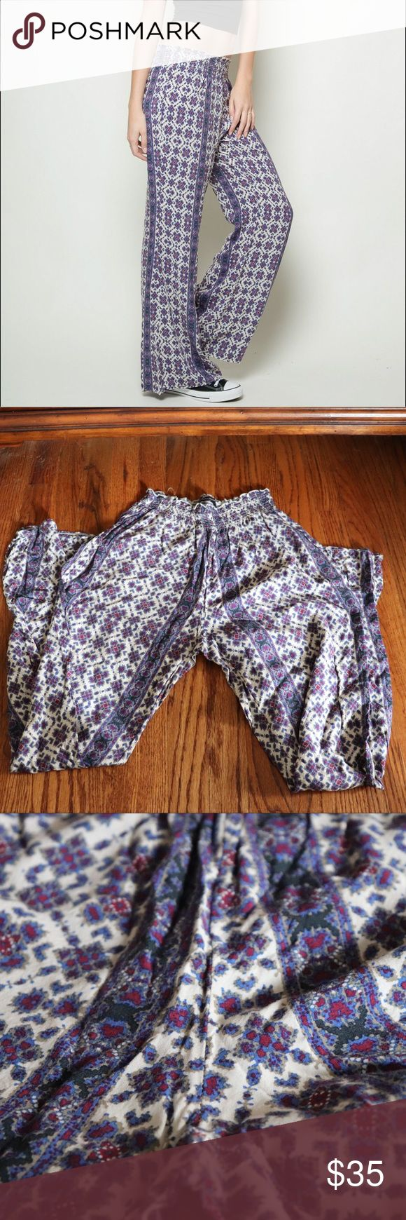 BRANDY MELVILLE Alexah Pants A must have for the summer!! Super comfortable! Brandy Melville Pants