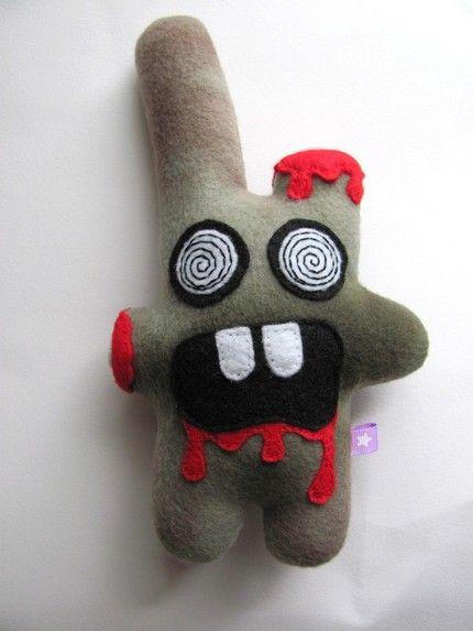 zombie bunny - eyes