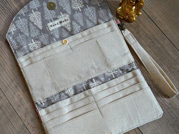 Women's Fabric Wallet Elephant Design por theWatermelonDesign