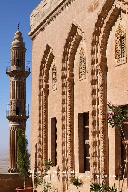 Post Office, Old Caravanserai, Mardin, Turkey