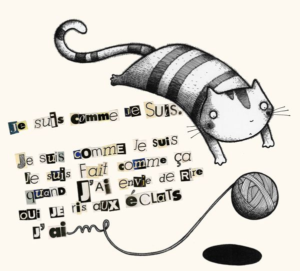 Type Illustrations by Elisa Ferro, via Behance