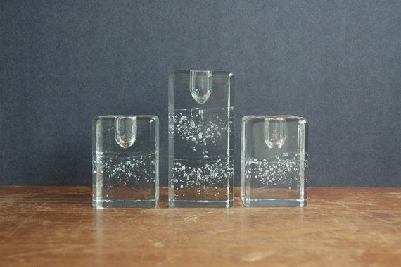Mid Century Modern Iittala Arkipelago Candle Holder by JunkHouse, $45.00