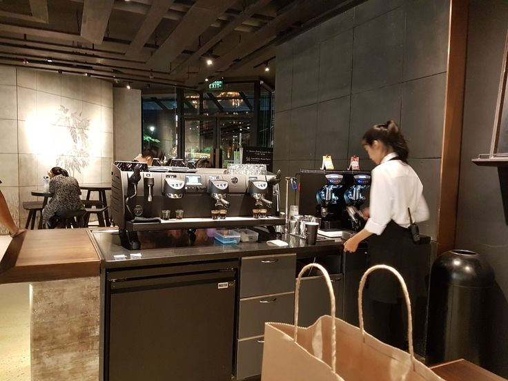 Black Eagle Espresso Machine in Starbucks Reserve, Plaza Senayan.  The 2nd Reserve in Jakarta. Grand Opening, May 18th, 2017.