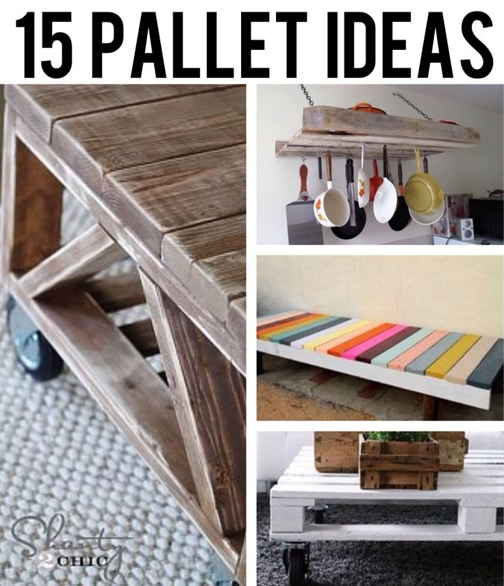 15 DIY pallet ideas that are fun and unique!