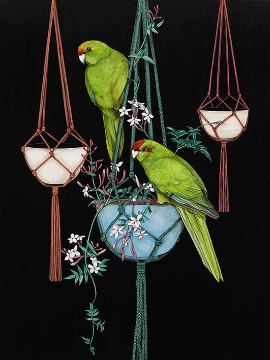 The Two of Us - by Nelson artist Kathryn Furniss. Art-prints available from www.imagevault.co.nz