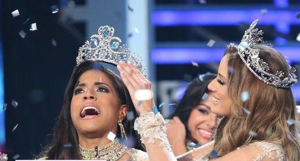 Francisca Lachapel se corona como Nuestra Belleza Latina