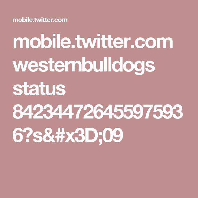 mobile.twitter.com westernbulldogs status 842344726455975936?s=09