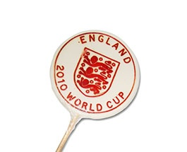 England football promotional business lollies. Rock candy, favours, personalized sweets, sweets, rock sweets, customizable candy, sweet shop, sweetie, bonbonnier, party sweets, hard candy, unique gift, candy buffet, candy table, treats