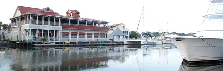 R.B.'s Seafood Restaurant - Mt. Pleasant on Shem Creek. The first place we ate when we came down to interview. Still a fav.