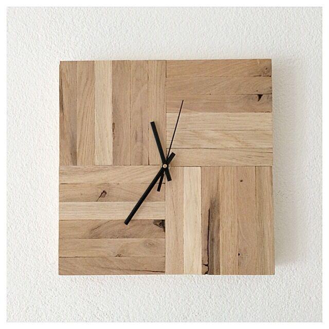 Mooie houten klok