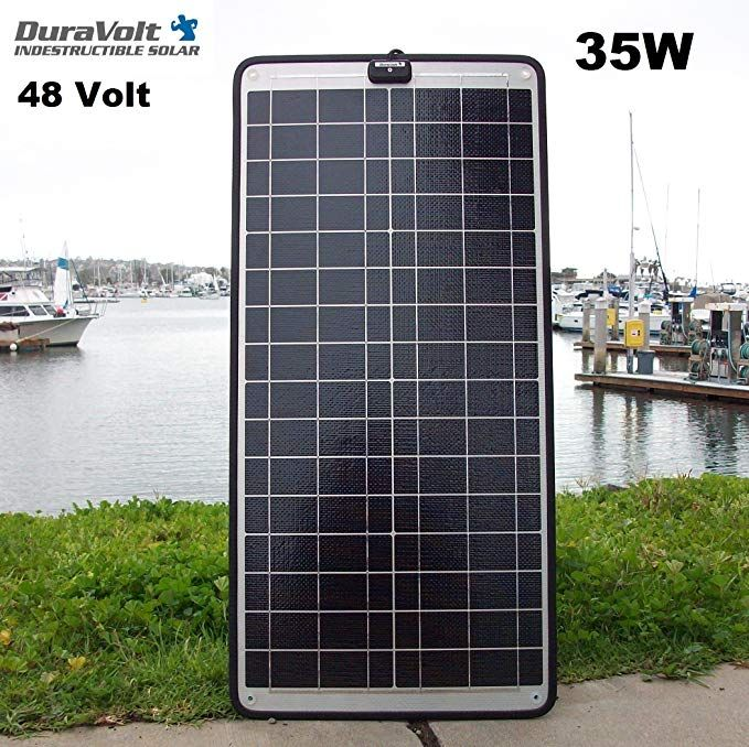 New For 2017 48 Volt Solar Charger 35 0 Watt 48v 1 2 A Solar Maintainer Plug Play For Golf Carts Review Solar Panels Best Solar Panels Solar Panels For Home