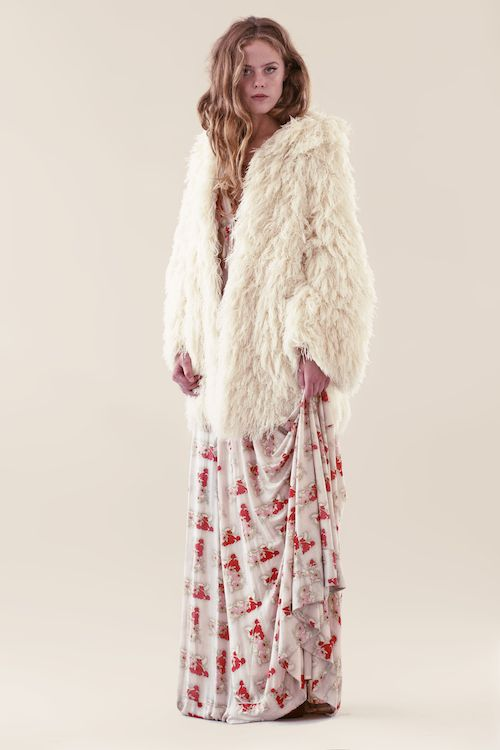It's All Happening Shag Coat... Amazing vegan 70's shag coat from France. Made for rockstars their lovers....