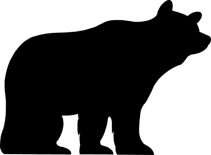 B and W Bear