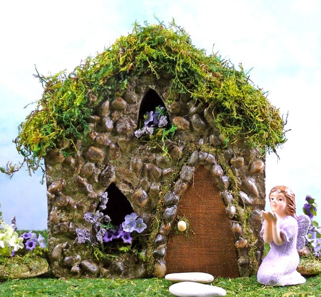 70 Best Images About Enchanted Fairy Houses On Pinterest