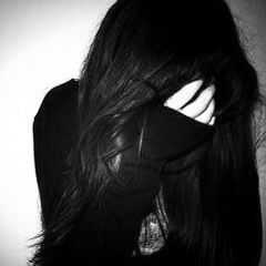 teen girl covering her face hairstyles pinterest