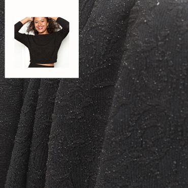 Fin tricot noir pour le Top Chessie