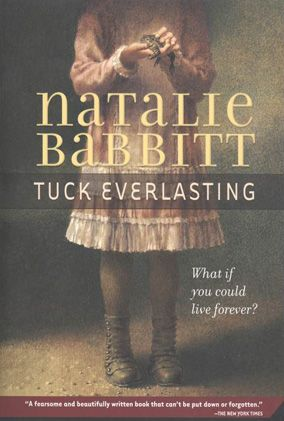Tuck Everlasting by Natalie Babbit the first book I read all by myself and I remember the whole thing, still one of my favourites and 1 book I'll be passing down to my daughter