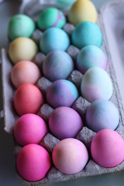 How to get intense colors for your Easter Eggs