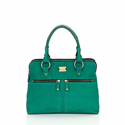 Yes, Please! Pippa Modalu bag in Emerald