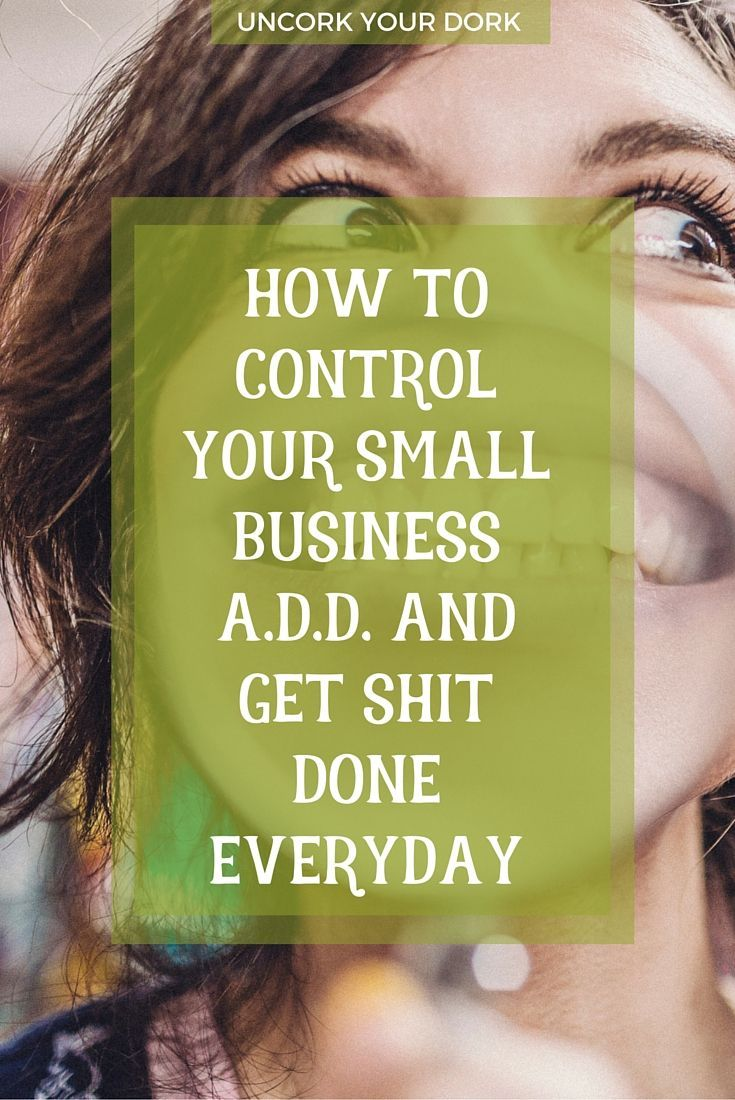 """""""Keeping Focused In Small Business: The Focus Has Officially Screwed Me"""" When you can't keep your focus during the workday, try these tips and tricks!"""