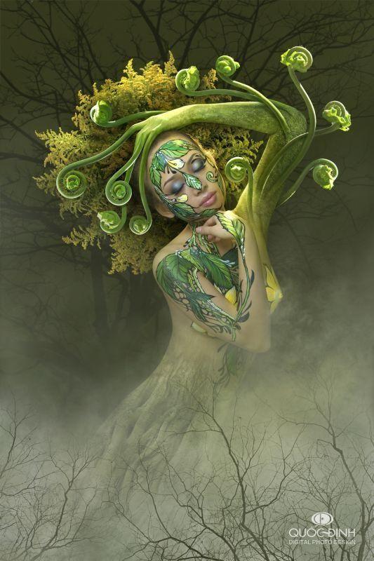 Druids Trees: An Earth spirit.