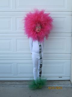 Truffula tree costume