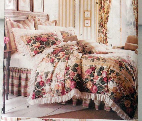 Butterck 6370 Waverly Diy Bedding Curtains Accessories Diy Gift Idea Home Decor Interior Design Luxurious Bedroom Decor Luxury Bedroom Decor Bedroom Decor Diy Bed