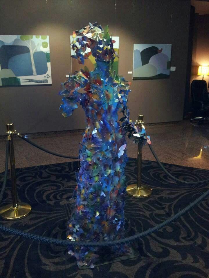 Second Chance metal sculptures by Marc Spurgin