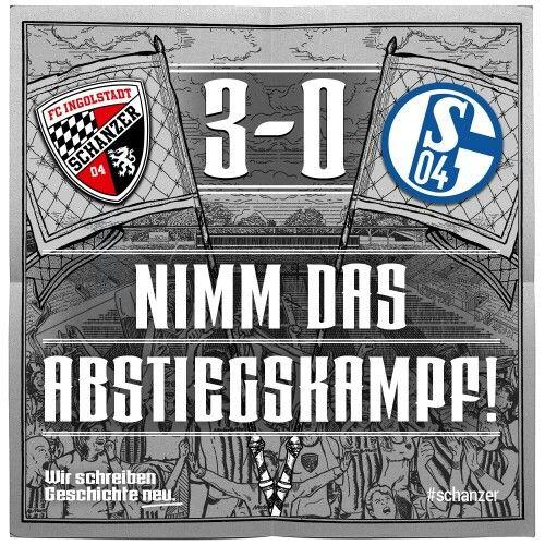 FC Ingolstandt 04 le gana a una de las escuedras q estan entre los 5 primeros de la tabla
