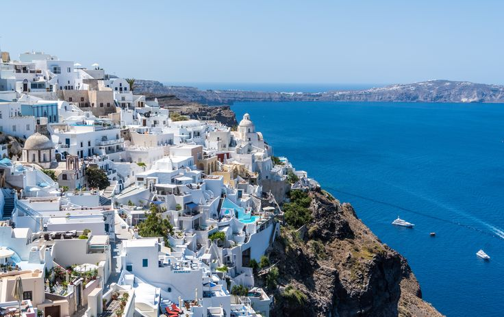 No caption needed for the island of Santorini! #VarietyCruises #Santorini #Greece