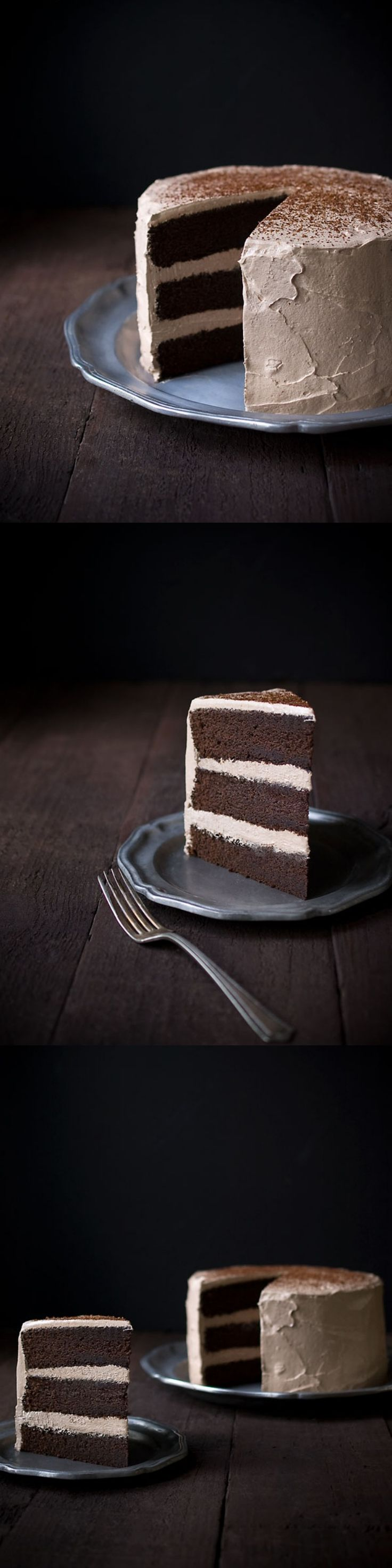 This Chocolate Espresso Layer Cake is the BEST chocolate cake you will ever make. Period.