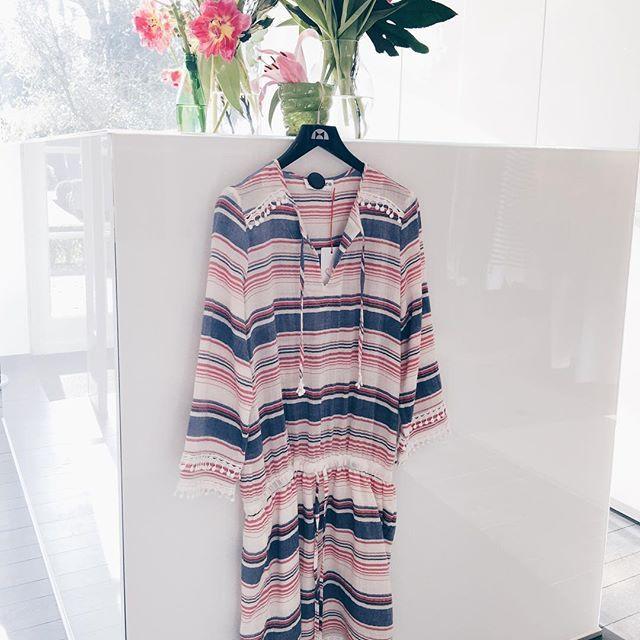 // new arrivals // zomerse jurk met kleurrijke strepen ❤️ #inspiration #dress