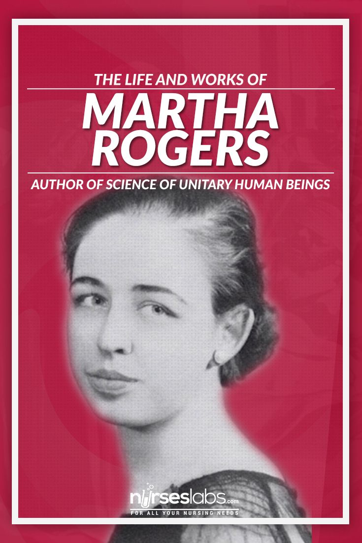 martha rogers theory Martha e rogers' creation of the science of unitary human beings (suhb) theory allowed nursing to be considered one of the scientific disciplines rogers provided a framework for nursing study and research that improved nursing education, practice and re.