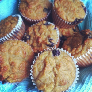 Banana blueberry muffins | SCD Cakes, Cupcakes, Muffins, and Sweet Br ...